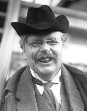 Smiling G.K. Chesterton